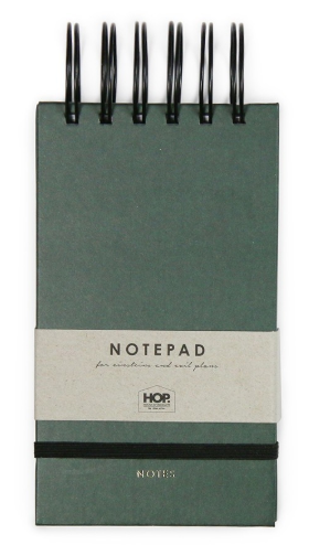Notapad Small - Forest Green