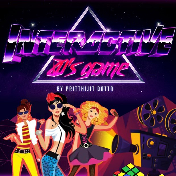 Interactive 80's Game