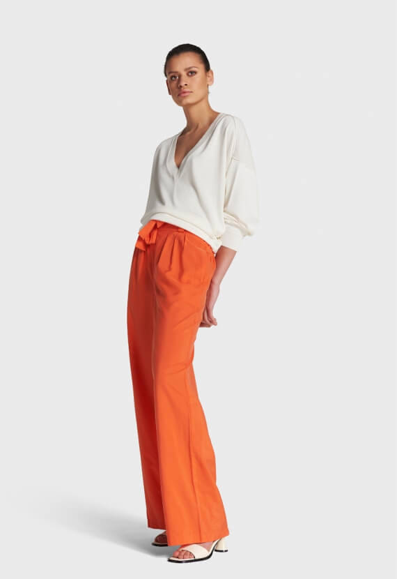 SPICY CORAL PANTS
