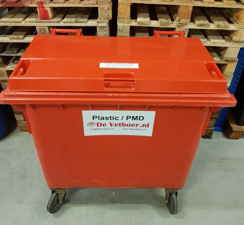 Pmd container 660 ltr