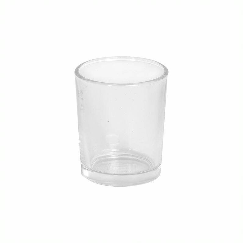 Votive Candle Glass - Clear
