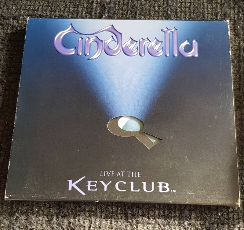 Cinderella - Live at the Key Club 1999 (2nd hands)