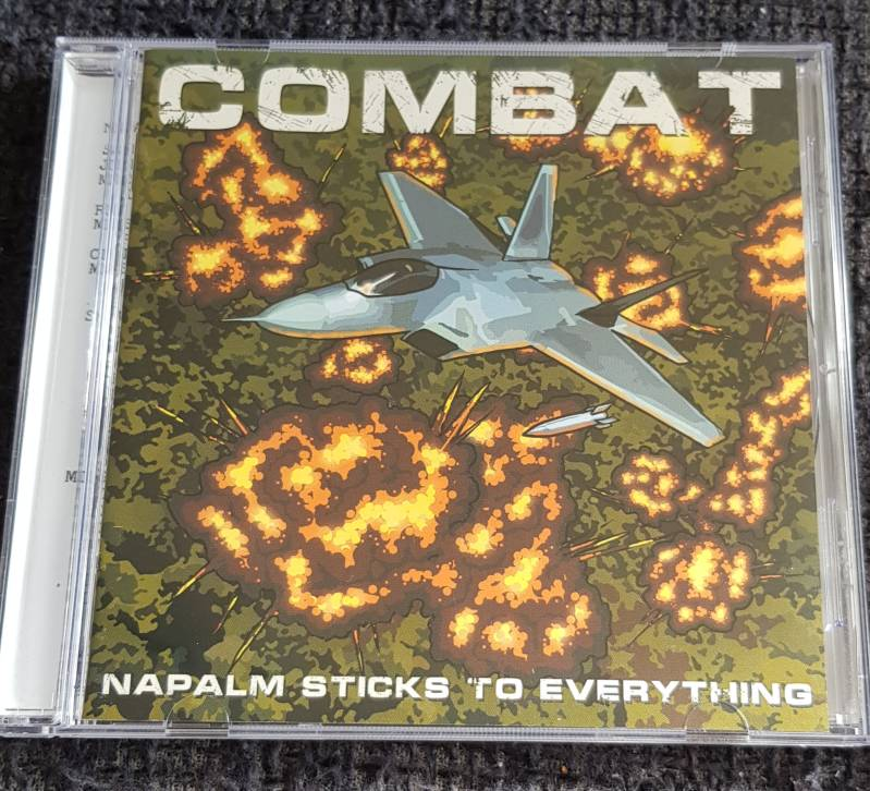 Combat - Napalm Sticks To Everything 1985 / 2013 (Double CD)