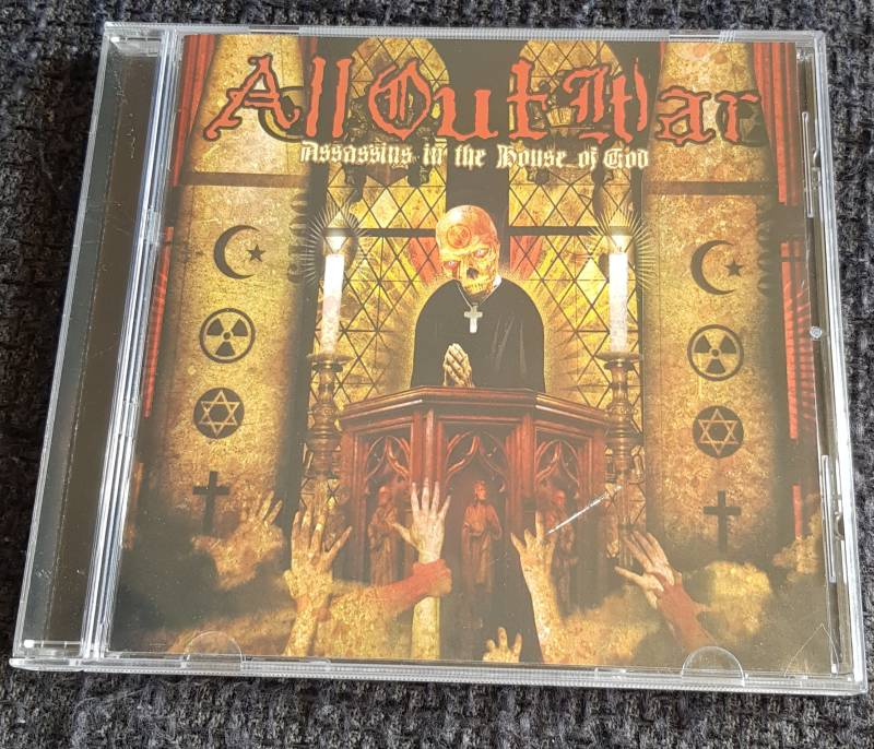 All Out War - Assassins In The House Of God (2nd hands)