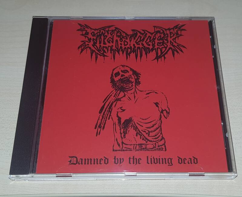 Filthdigger ‎– Damned By The Living Dead