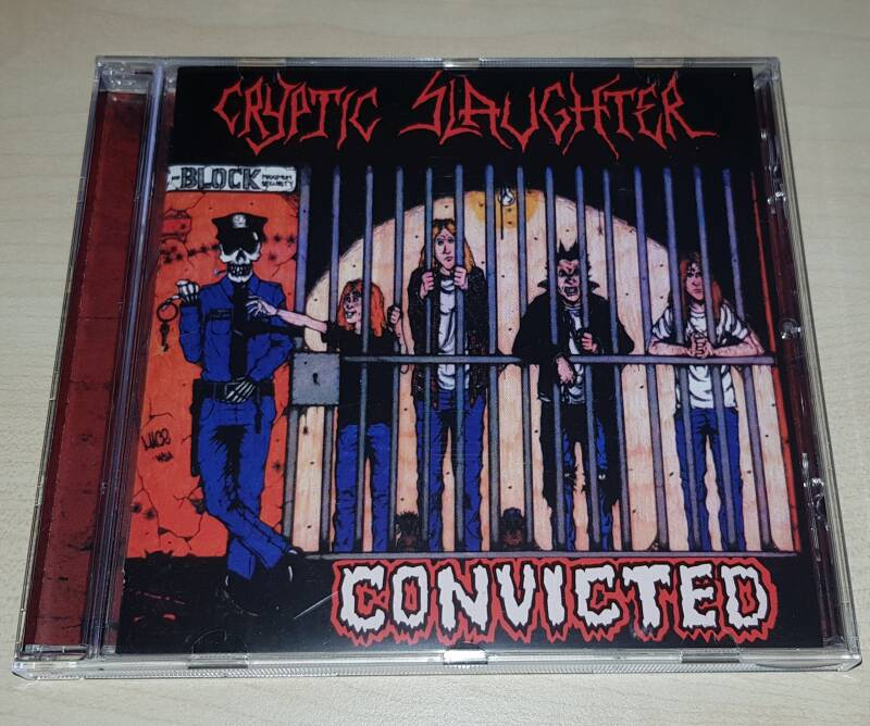 Cryptic Slaughter - Convicted