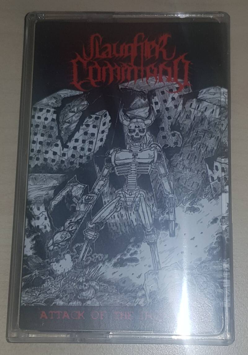 Slaughter Command - Attack Of The Iron Beast