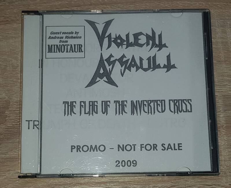 Violent Assault - The Flag Of The Inverted Cross