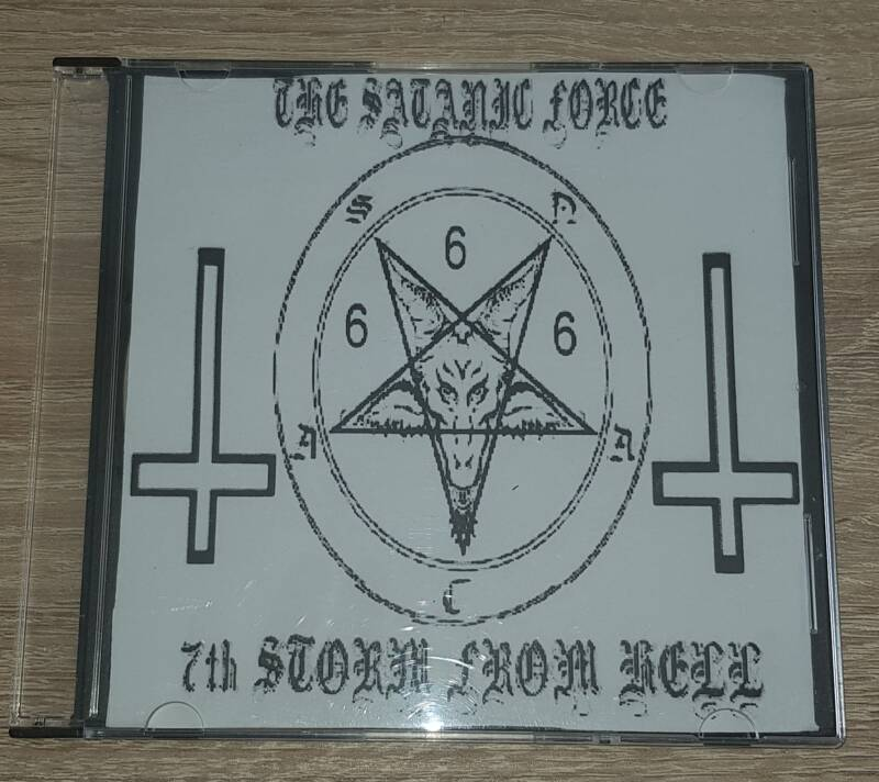 The Satanic Force - 7th Storm From Hell