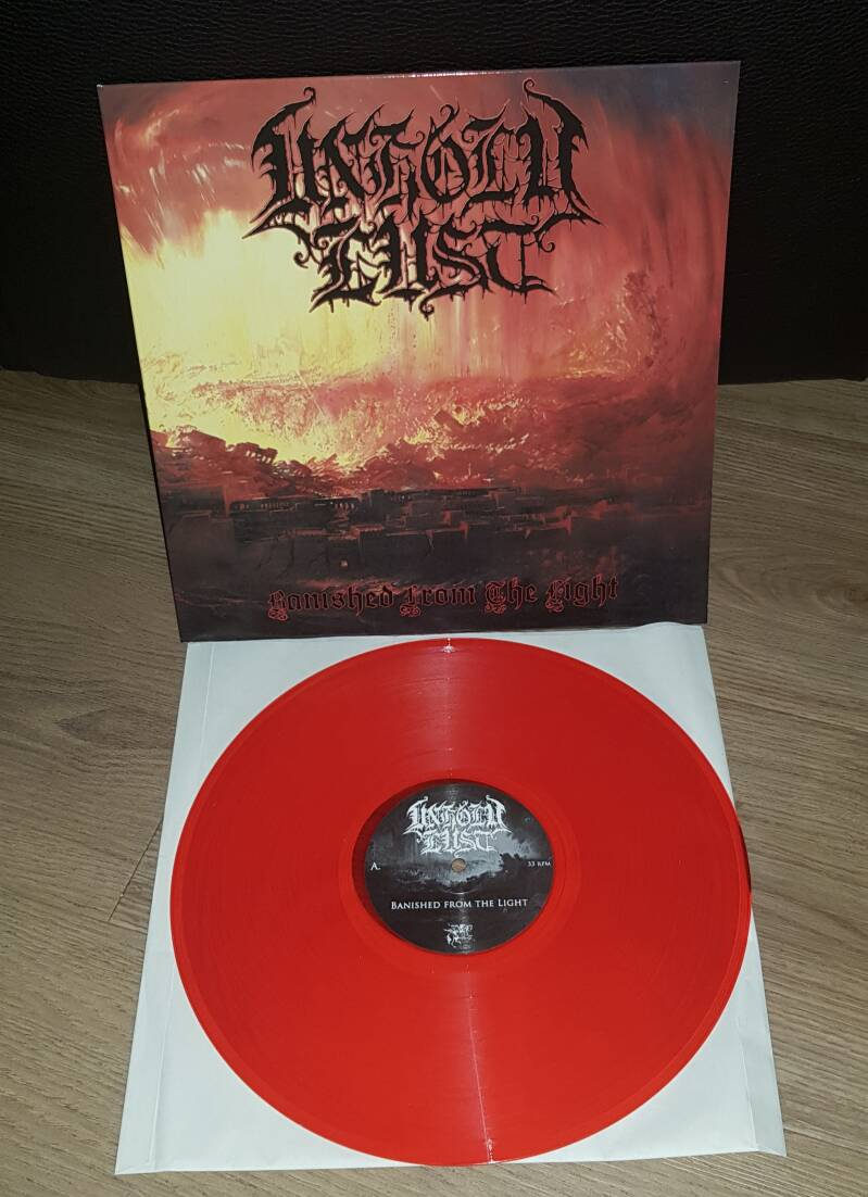 Unholy Lust - Banished from the Light/Live & Raw