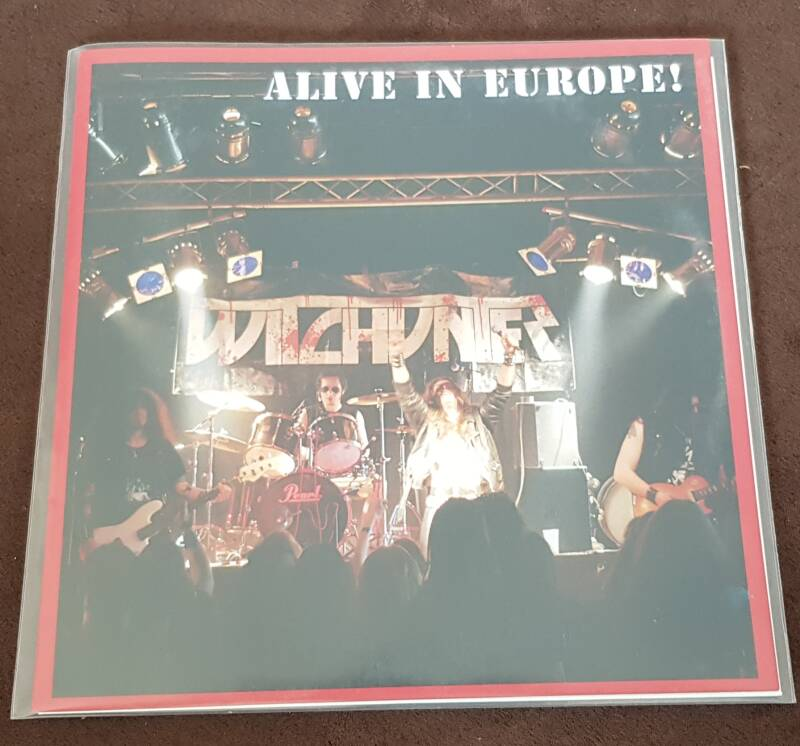 Witchunter - Alive In Europe