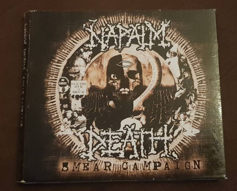 Napalm Death - 5 Mear Campaign