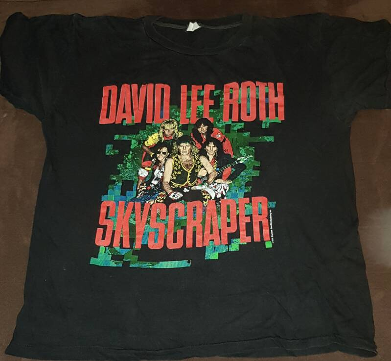David Lee Roth - Skycraper tour shirt 1988
