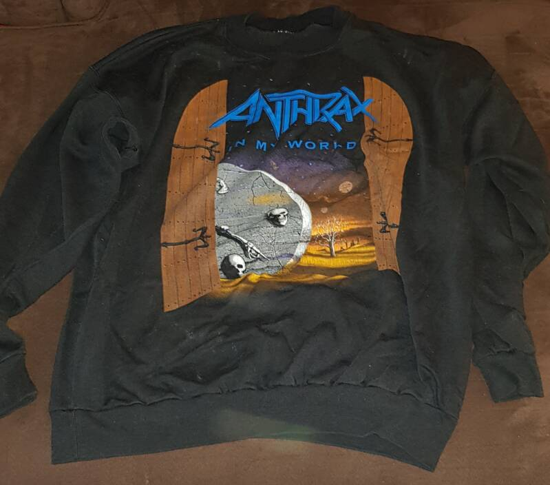Anthrax sweater - In My World