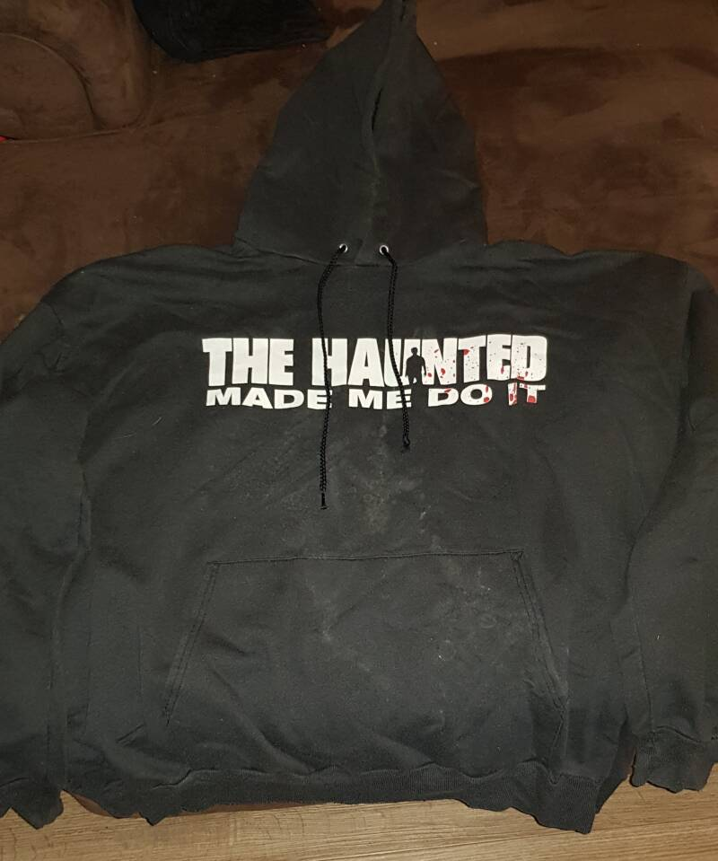 The Haunted - Made Me Do It hooded