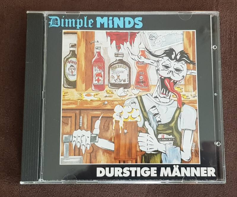 Dimple Minds - Durstige Maner