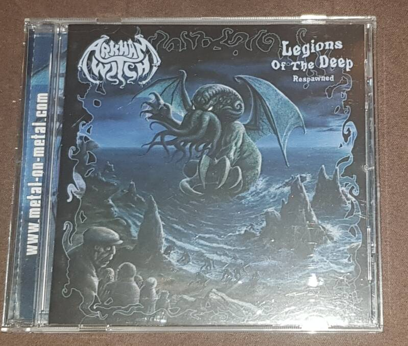 Arkham Witch - Legions Of The Deep