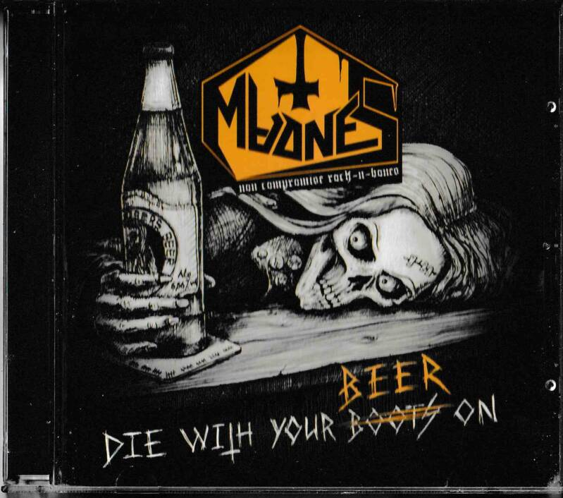 MadneS – Die With Your Beer On (CD)