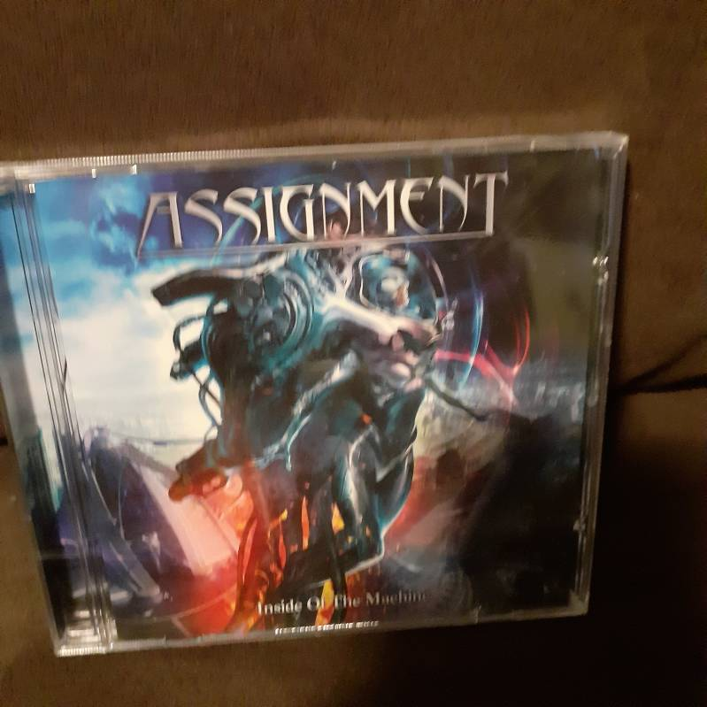 Assignment - Inside Of The Machine