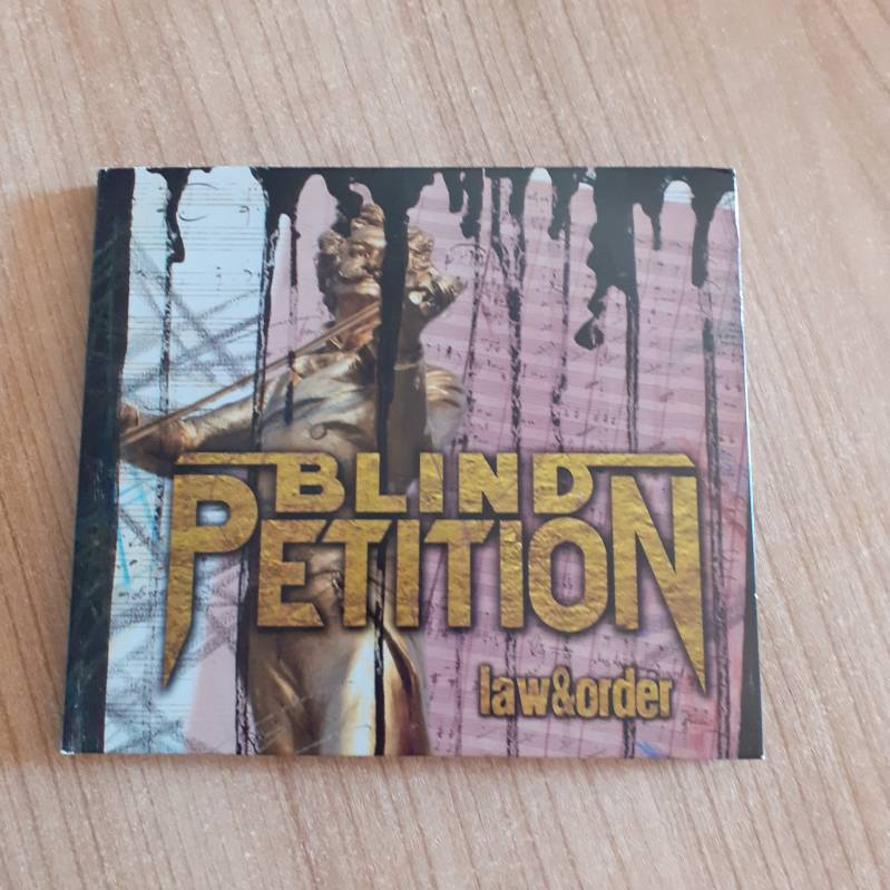 Blind Petition - Law & Order Digipack CD