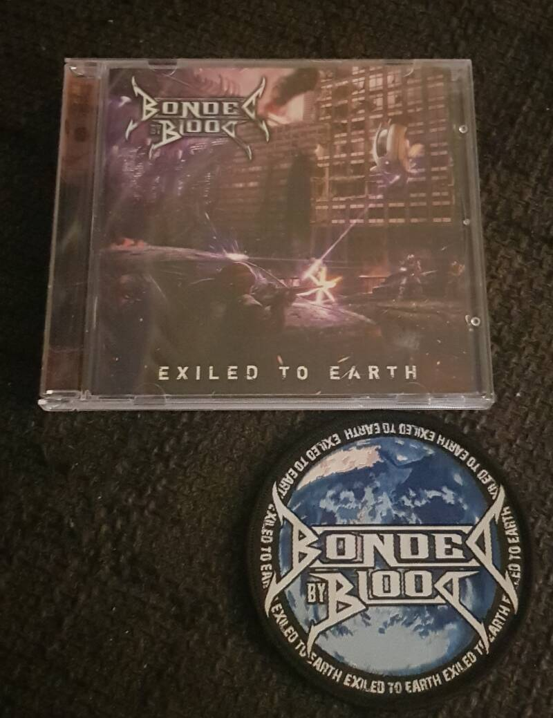 Bonded By Blood  - Exiled To Earth incl. Embroided PATCH!!!
