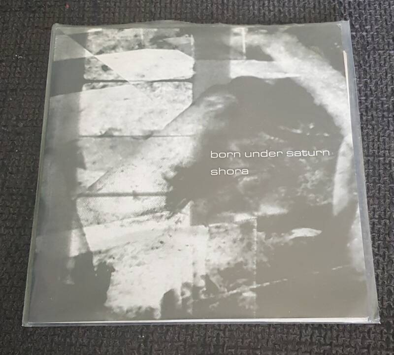 Born Under Saturn Shora - Split 7 Inch Heavy Grey Single