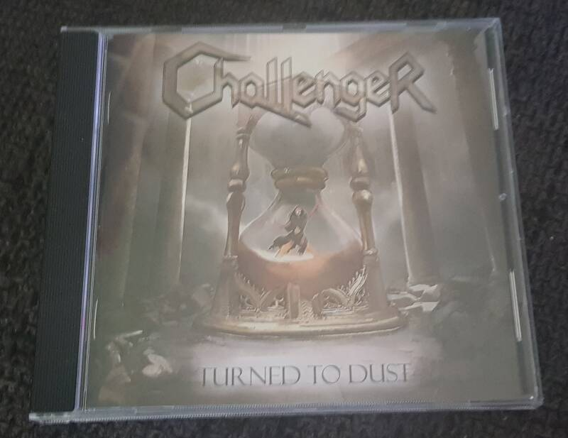 Challenger - Turned To Dust  inc. Free sticker!