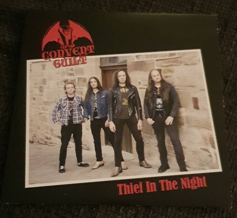 Convent Guilt – Witchtower - Split 7 Inch Single