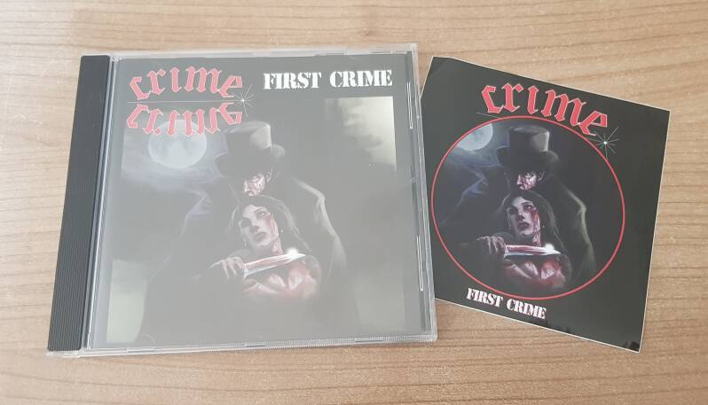 Crime - First Crime MCD with FREE sticker!