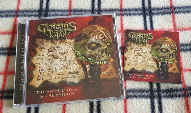 Genghis Khan - The Awakening & The Passage incl, magnet