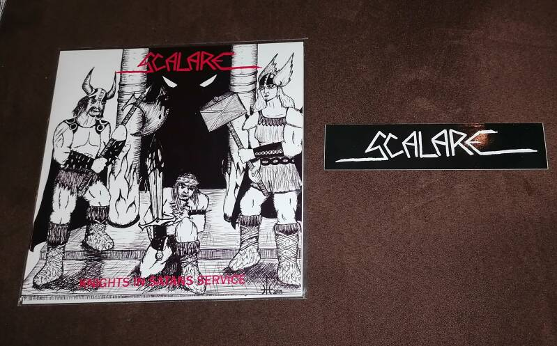 Scalare - Knights In Satans Service