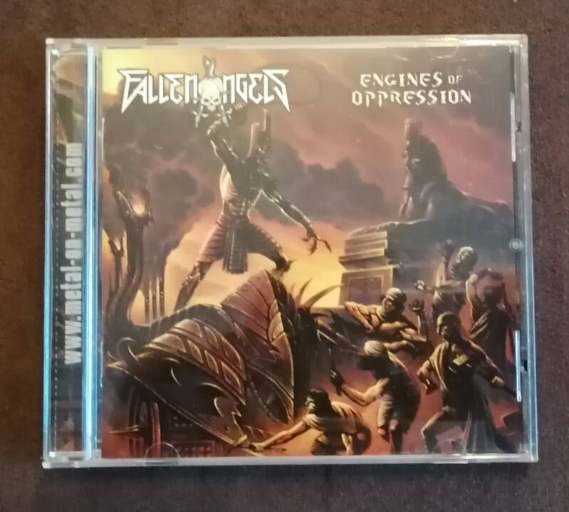 Fallen Angels - Engines Of Oppression