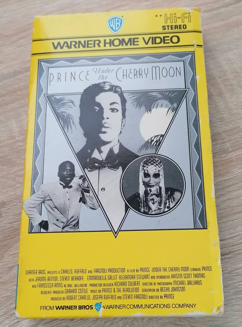 Prince - Under The Cherry Moon VHS