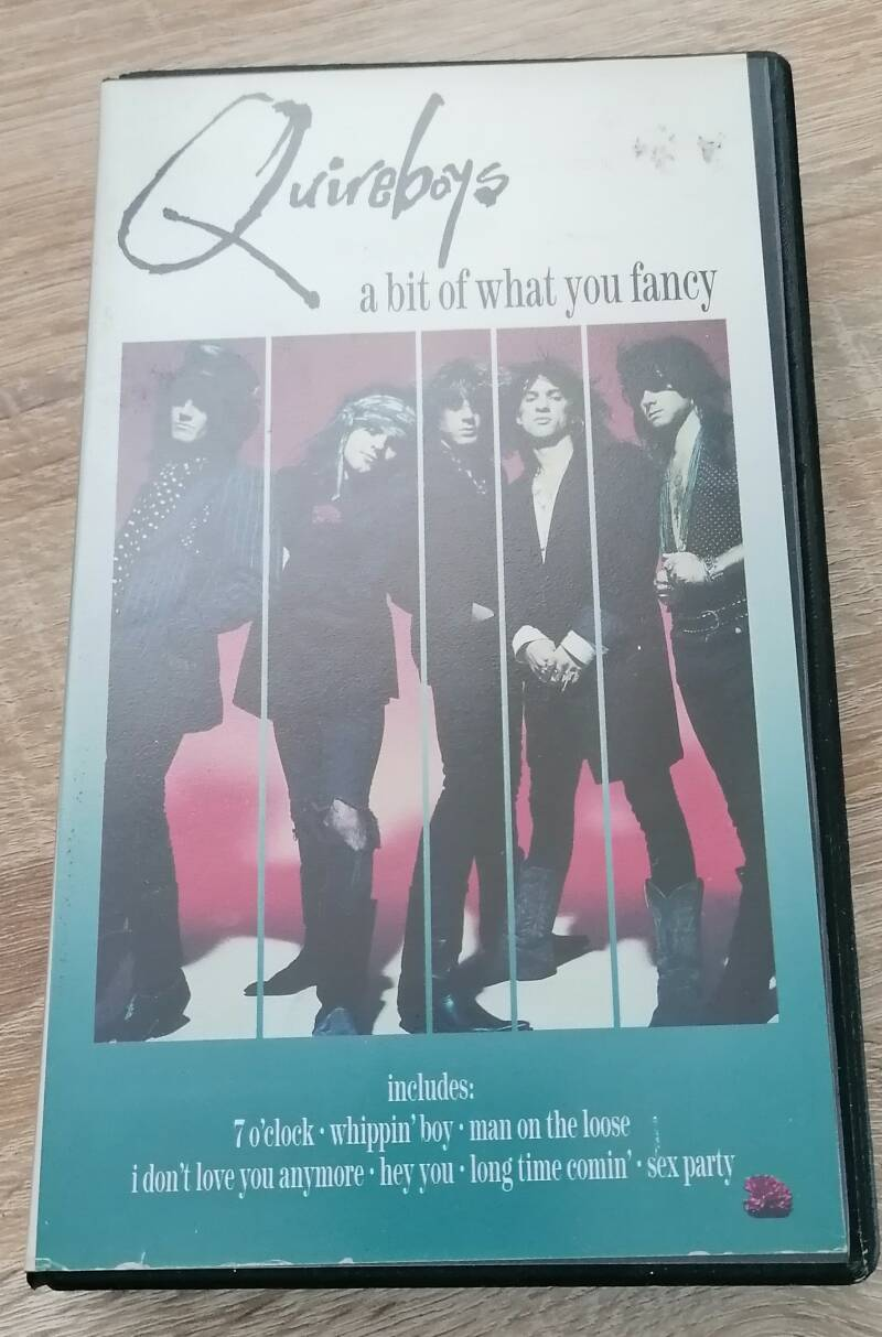 Quireboys -  A Bit Of What You Fancy VHS