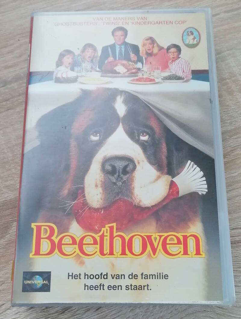 Beethoven movie VHS