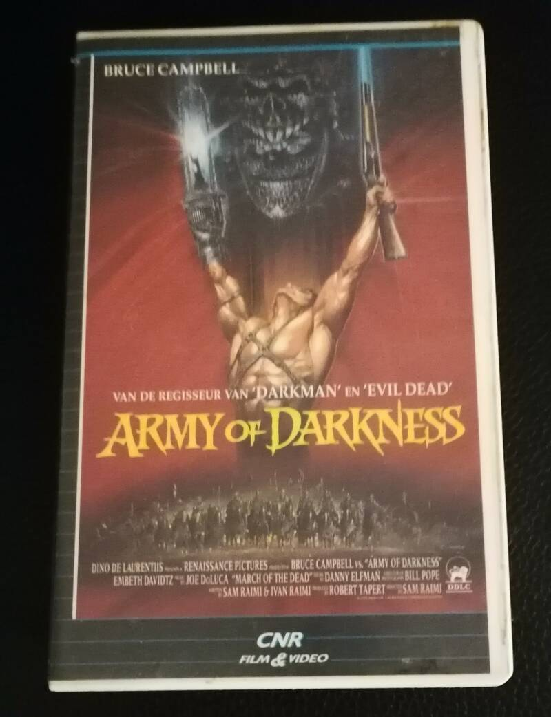 Army Of Darkness Movie VHS