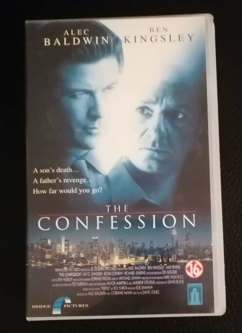 The Confession Movie VHS