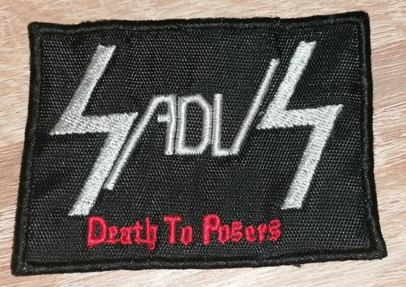 Sadus Death To Posers patch