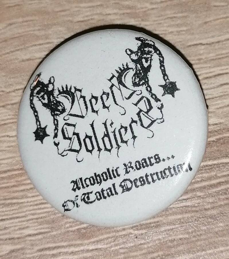 Beer Soldiers button