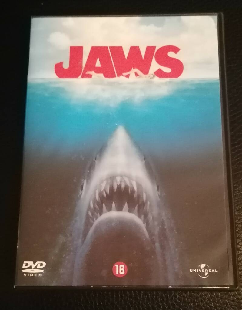 JAWS The Movie DVD