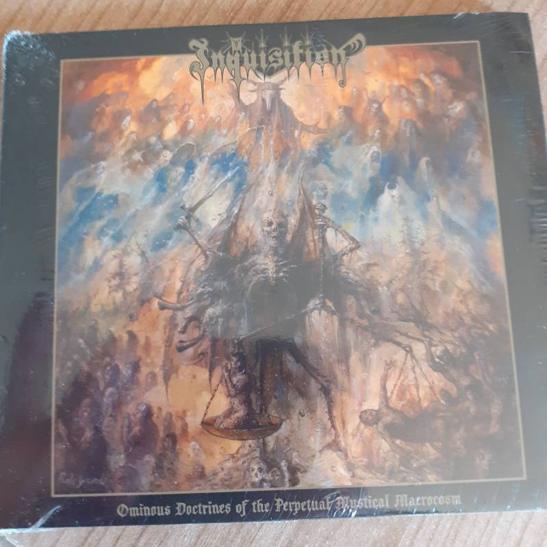 Inquisition (Digipack) - Ominous Doctrines of the Perpetual Mystical Macrocosm