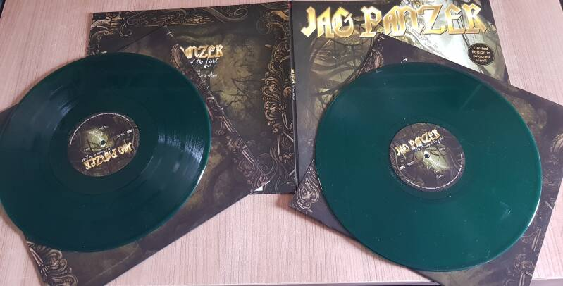 Jag Panzer - The Scourge Of The Light (2 × Vinyl, LP, Album, Limited Edition, Green)