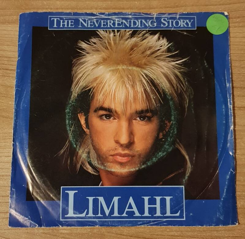 Limahl - The Never Ending Story (2nd hand) cover in bad condition 7 Inch Single