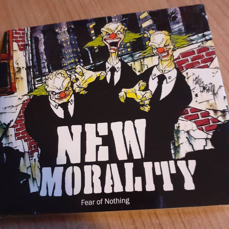 New Morality - Fear Of Nothing (digipack CD) SEALED