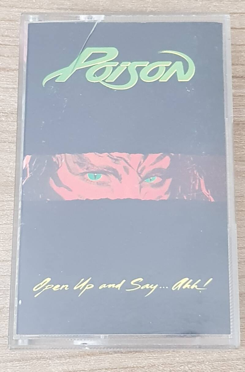 Poison - Open Up And Say … Ahh (2nd hand)