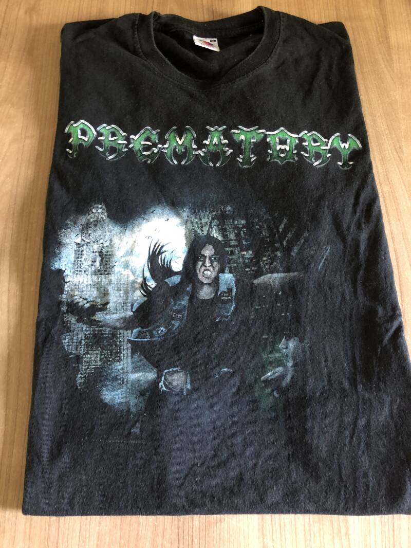 Prematory - Fear Our Devine Wrath (both sides printed)