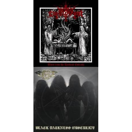 Beast Conjurator / Omission (Split LP) - Born From The Darkest Entrails / Black Darkness Obscurity