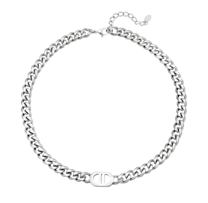 The good life necklace silver