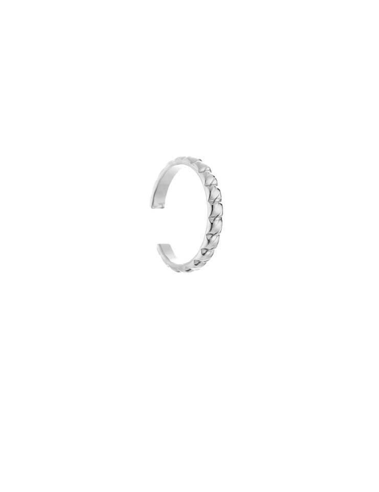 Combi ring silver