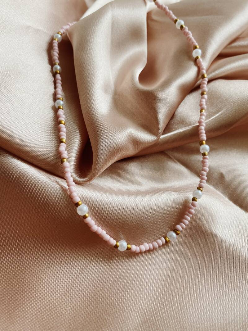 Pink golden pearl